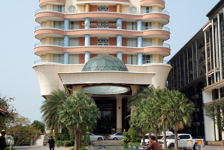 Отель Лонг Бич Гарден в Паттайе
