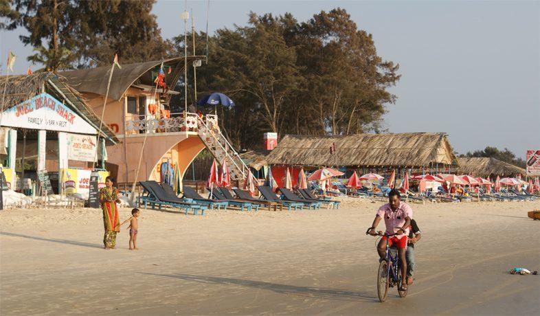Пляж Беталбатим Южный Гоа