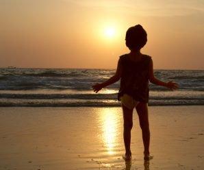 Выходные дни на пляже Беталбатим