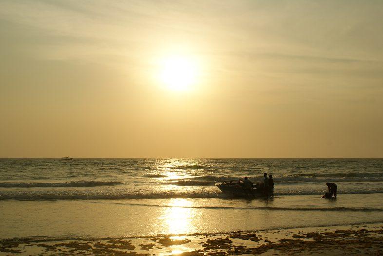 Закат солнца на Гоа