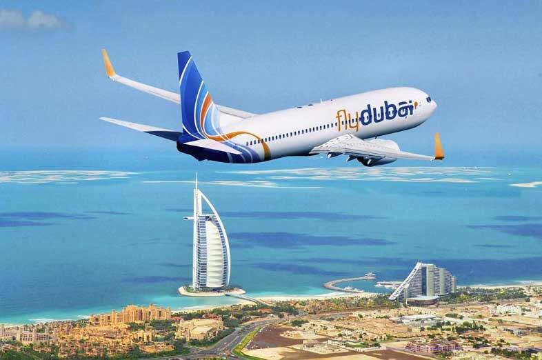 лоукостер Fly Dubai