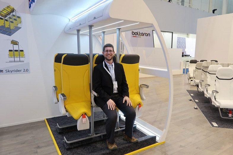 Пассажир в кресле skyrider - 2.0