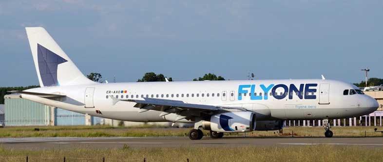 Молдавский лоукостер Fly One