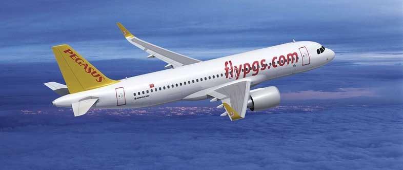 турецкий лоукостер Pegasus Airlines