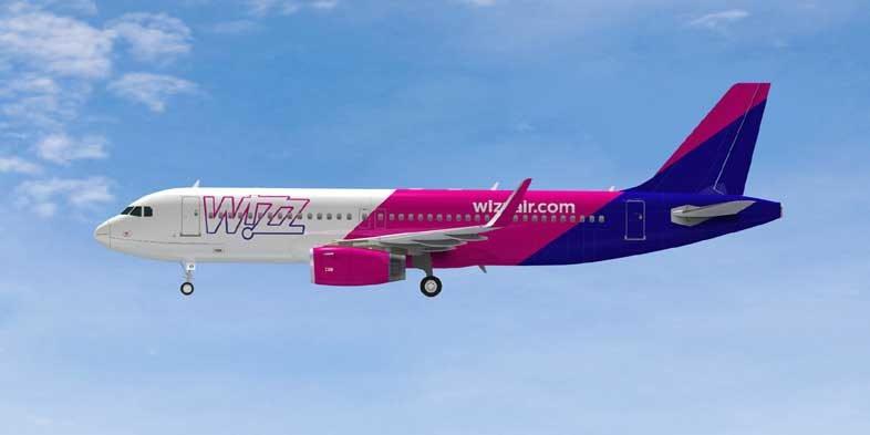 европейский лоукостер Wizz Air