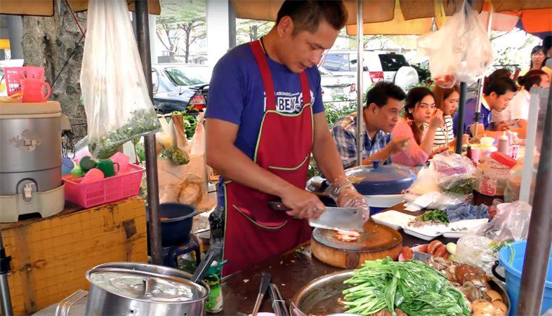 Еда в Тайланде.