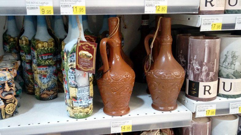 цены на вино в Батуми
