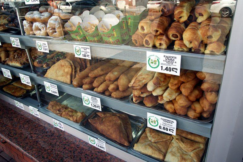 цены на еду в Батуми