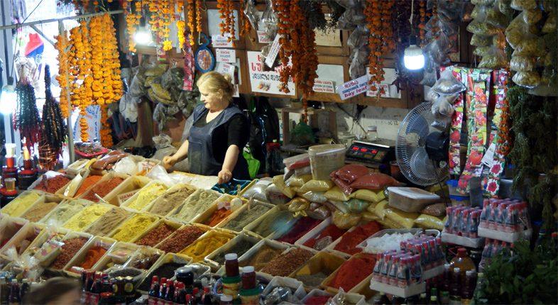 Специи на рынке Батуми