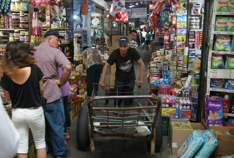 Рынок Хопа в Батуми