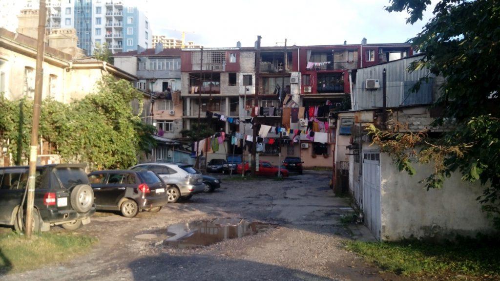 Дворы и улицы Батуми