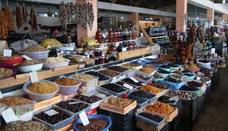 Продовольственный рынок Бони в Батуми