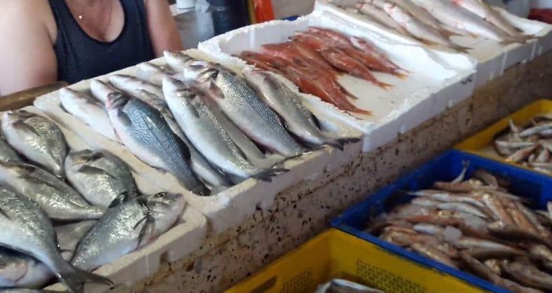Рыбный рынок в Батуми