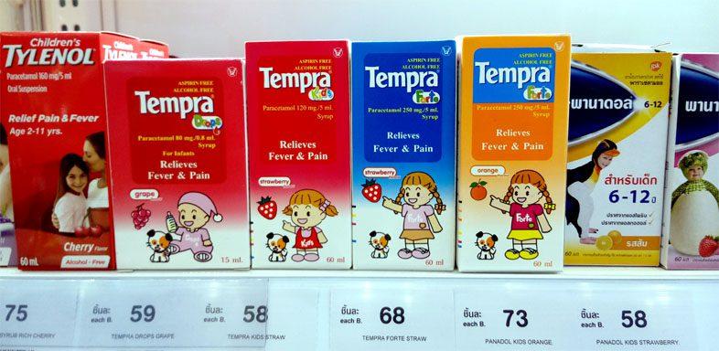 Тайские лекарства для детей
