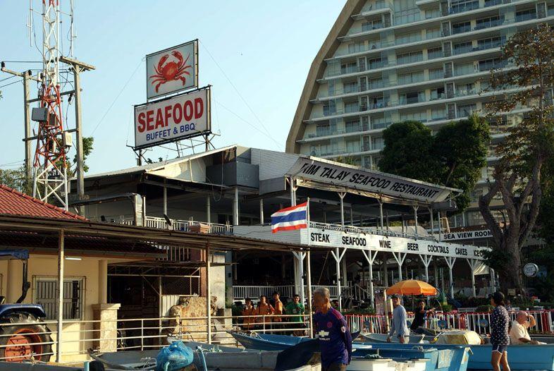 Ресторан Sea Food на пляже Вонгамат