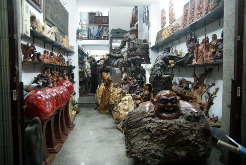 Сувениры из дерева во Вьетнаме