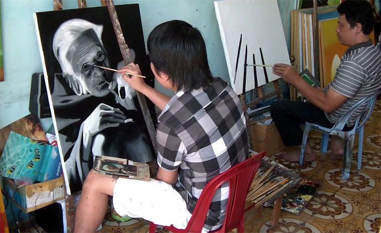 Вьетнамская художественная мастерская