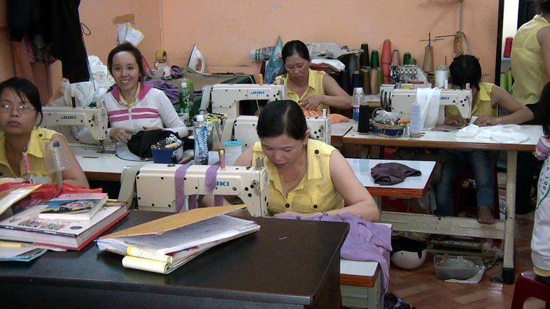 швейная мастерская в Нячанге