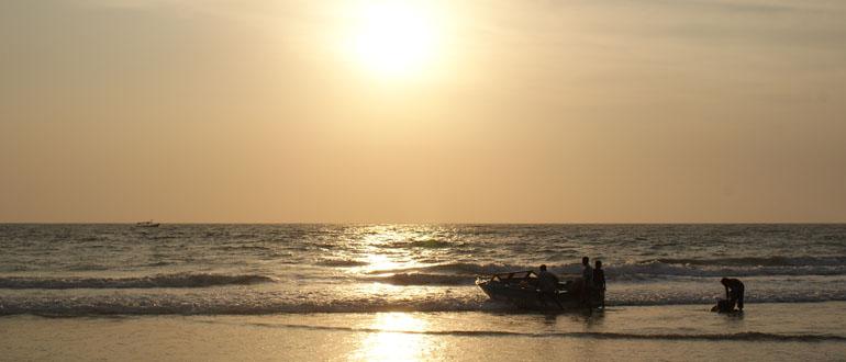 Пляжный отдых в апреле