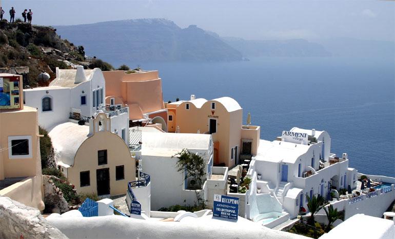 Пляжный курорт в Греции