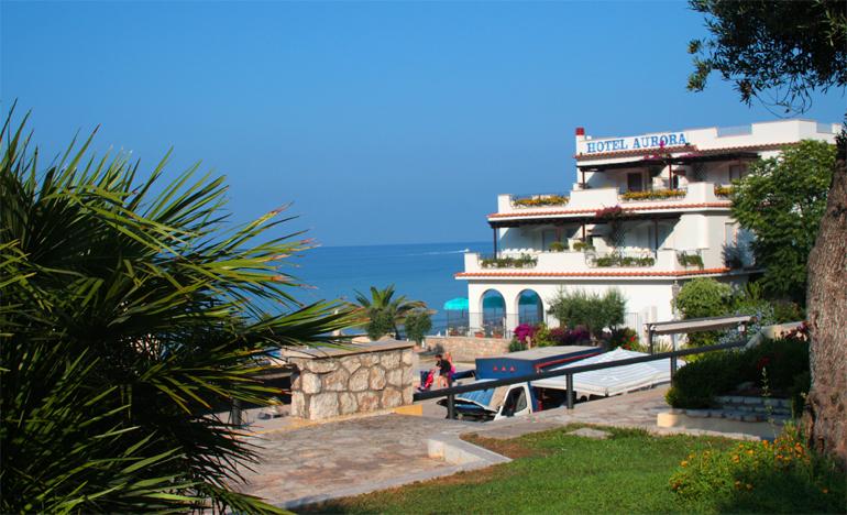 Пляжный курорт в Италии