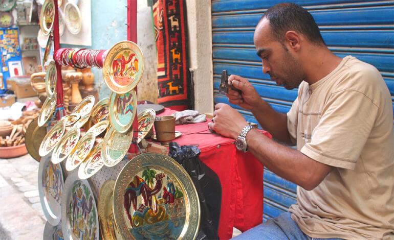 Тунис. Базар в Медине