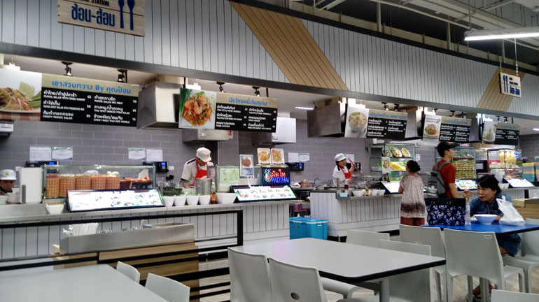 Фуд корт в ТЦ Централ Марина, Паттайя