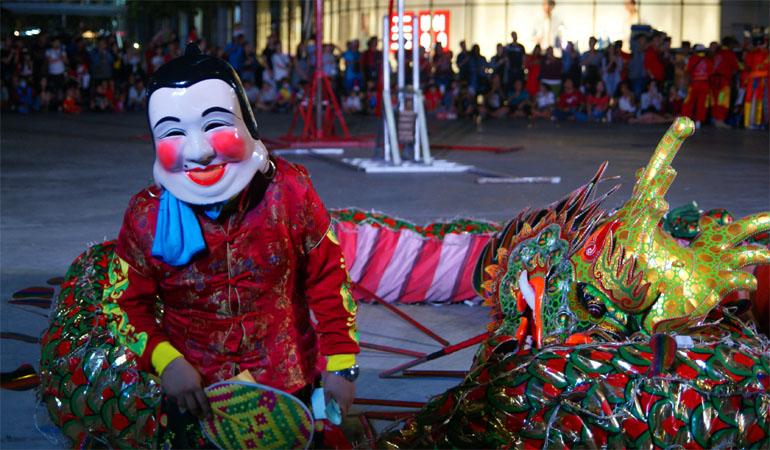 Представление в Паттайе на Китайский Новый Год