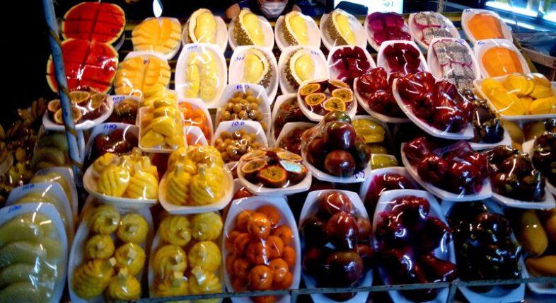 Цены на фрукты в Паттайе