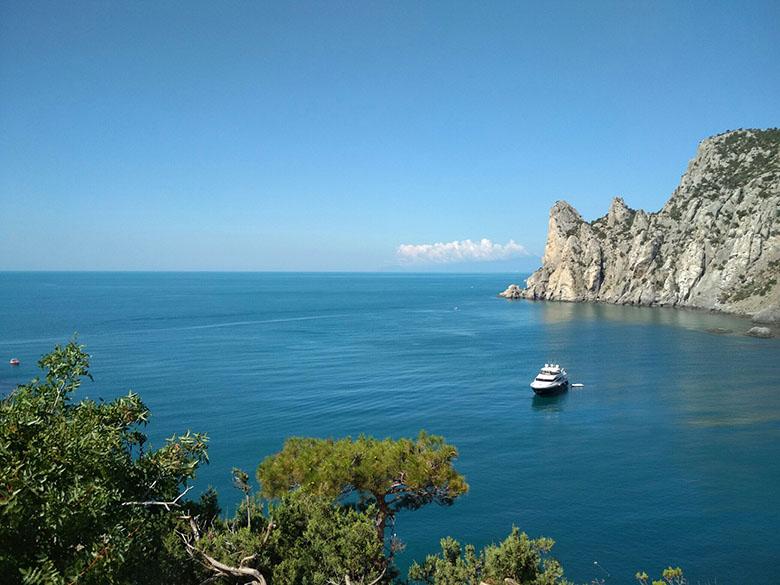 Море в Крыму
